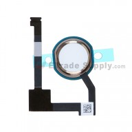For Apple iPad Air 2 Home Button Assembly with Flex Cable Ribbon  Replacement - Gold - Grade S+