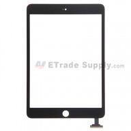 For Apple iPad Mini 3 Digitizer Touch Screen Replacement - Black - Grade R