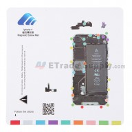 For Apple iPhone 4 Magnetic Screw Mat Replacement - Grade R