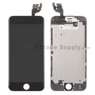 For Apple iPhone 6 LCD Digitizer Assembly with Frame and Small Parts Replacement (Without Home Button) - Black - Grade A