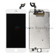For Apple iPhone 6S Plus LCD Screen and Digitizer Assembly with Frame Replacement - White - Grade S+