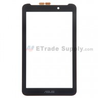 For Asus Fonepad 7 FE170CG Digitizer Touch Screen Replacement - Black - With Logo - Grade S+