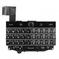 For BlackBerry Classic Q20 Keyboard and Keypad Replacement - Black - Grade S+