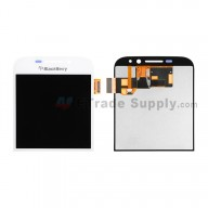 For Blackberry Classic Q20 LCD Screen and Digitizer Assembly Replacement - White - Grade S+