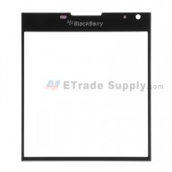 For Blackberry Passport Glass Lens Replacement - Black - Grade S+
