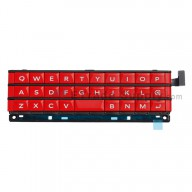 For BlackBerry Passport Keyboard and Keypad Replacement - Red - Grade S+
