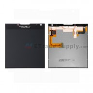 For BlackBerry Passport LCD Screen and Digitizer Assembly  Replacement (LCD-57695-003/111) - Black - With Logo - Grade S+