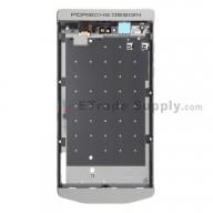 For BlackBerry Porsche Design P'9982 Middle Plate Replacement - Silver - Grade S+
