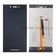 For BlackBerry Z3 LCD Screen and Digitizer Assembly Replacement - Black - With Logo - Grade S+
