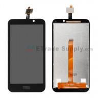 For HTC Desire 320 LCD Screen and Digitizer Assembly Replacement - Black - Grade S+