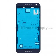 For HTC Desire 610 Front Housing Replacement - Blue - Grade S+