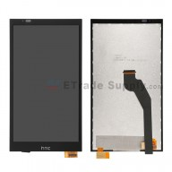 For HTC Desire 816G Dual SIM LCD Screen and Digitizer Assembly Replacement - Black - With Logo - Grade S+