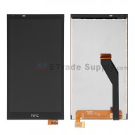 For HTC Desire 820 LCD Screen and Digitizer Assembly Replacement - Black - Grade S+