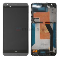 For HTC Desire 820 LCD Screen and Digitizer Assembly with Front Housing Replacement - Gray - Grade S+