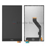 For HTC Desire 826 LCD Screen and Digitizer Assembly Replacement - Black - With Logo - Grade S+