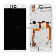 For HTC Desire Eye LCD Screen and Digitizer Assembly with Front Housing Replacement (without Top and Bottom Cover) - White - Grade A