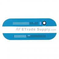For HTC One M8 Top Cover and Bottom Cover Replacement - Blue - Grade S+