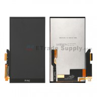 For HTC One M9+ LCD Screen and Digitizer Assembly Replacement - Black Only - Grade S+