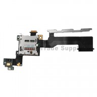 For HTC One M9 SD Card Reader Contact with Flex Cable Ribbon Replacement - Grade S+