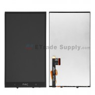For HTC One Max LCD Screen and Digitizer Assembly with Light Guide Replacement - With Logo - Grade S+