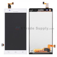 For Huawei Ascend G6 LCD Screen and Digitizer Assembly Replacement - White - With Logo - Grade S+