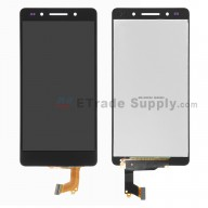 For Huawei Honor 7 LCD Screen and Digitizer Assembly Replacement - Black - Without Logo - Grade S+