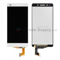 For Huawei Honor 7 LCD Screen and Digitizer Assembly Replacement - White - Without Logo - Grade S+
