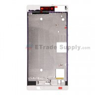 For Huawei P8 Front Housing  Replacement - White - Grade S+