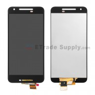 For LG Nexus 5X LCD Screen and Digitizer Assembly Replacement - Black - Without Logo - Grade S+