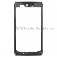 For Motorola Droid Razr XT912/XT910 Front Housing Replacement - Black - Grade A