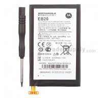 For Motorola Droid Razr XT912, XT910 Battery with Free Tool Replacement (EB20) - Grade R