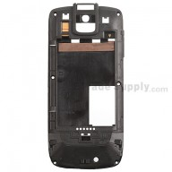 For Motorola ES400 Rear Housing Replacement - Black