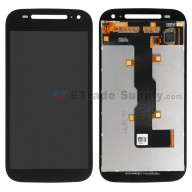 For Motorola Moto E (2nd Gen.) XT1511, XT1527 LCD Screen and Digitizer Assembly Replacement - Black - Without Any Logo - Grade S+