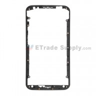 For MT Moto X (2nd Gen.) XT1092, XT1095, XT1096, XT1097 Front Housing Replacement - Black - Grade S+