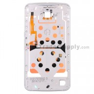 For Motorola Nexus 6 Middle Plate Replacement - White - Grade S+