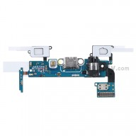 For Samsung Galaxy A5 SM-A500 Charging Port Flex Cable Ribbon with Earphone Jack Replacement - Grade S+
