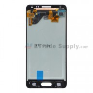 For Samsung Galaxy Alpha SM-G850 LCD Screen and Digitizer Assembly Replacement - Black - With Logo - Grade S+