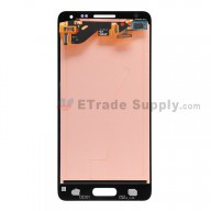 For Samsung Galaxy Alpha SM-G850 LCD Screen and Digitizer Assembly Replacement - Black - With Logo - Grade S