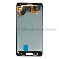 For Samsung Galaxy Alpha SM-G850 LCD Screen and Digitizer Assembly Replacement - White - With Logo - Grade S