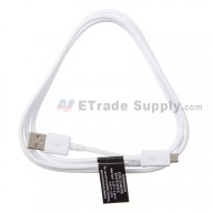 For Samsung Galaxy Note 4 Series USB Data Cable - White - Grade S+