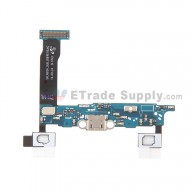 For Samsung Galaxy Note 4 SM-N910V Charging Port Flex Cable Ribbon  Replacement - Grade S+