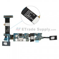 For Samsung Galaxy Note 5 SM-N920F Charging Port Flex Cable Ribbon With Sensor Replacement - Grade S+