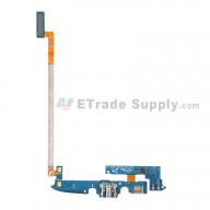 For Samsung Galaxy S4 Active GT-I9295 Charging Port Flex Cable Ribbon Replacement - Grade S+