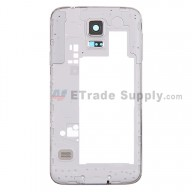 For Samsung Galaxy S5 SM-G900T Rear Housing Replacement - White - Grade S+
