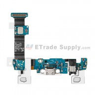 For Samsung Galaxy S6 Edge+ SM-G928A Charging Port Flex Cable Ribbon With Sensor Replacement - Grade S+