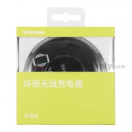 For Samsung Galaxy S6 Series Round Wireless Charging Pad Replacement - Black - Grade R