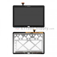 For Samsung Galaxy Tab Pro 10.1 SM-T520 LCD Screen and Digitizer Assembly Replacement - Black - With Logo - Grade S+