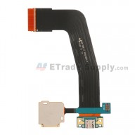 For Samsung Galaxy Tab S 10.5 SM-T800 Charging Port with SD Card Reader Flex Cable Ribbon Replacement (Version B) - Grade S+