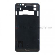 For Sony Xperia E4g Front Housing Replacement - Black - Grade S+