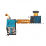 For Sony Xperia M2 SIM Card Reader Flex Cable Ribbon Replacement - Grade S+